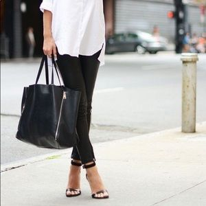 LULU🖤 skinny jeggings black denim jeans